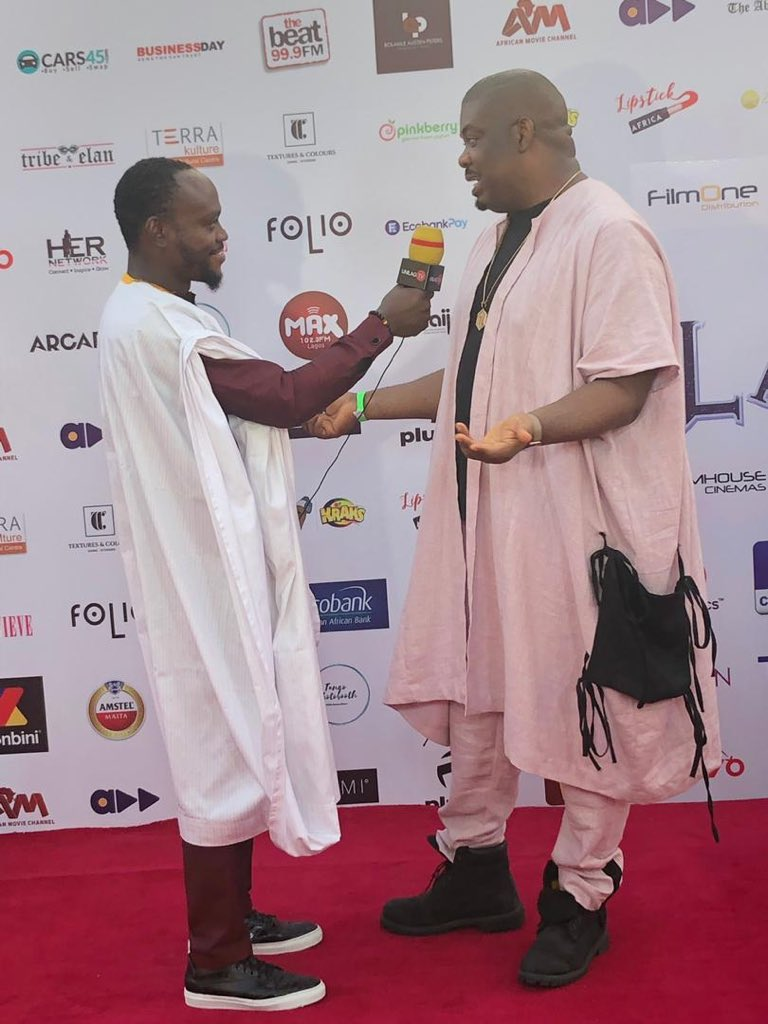 Don Jazzy's Agbada And Other Trending Outfits At The Premiere Of 'The Bling Lagosians'