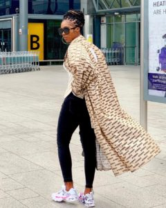 Tiwa Savage Effortlessly Slays As She Steps Out In Style