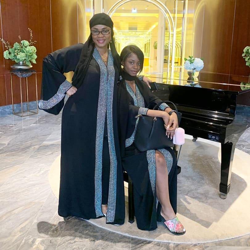 Iyabo Ojo And Daughter