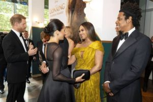 That Moment Meghan Markle And Beyonce Met Publicly For The First Time