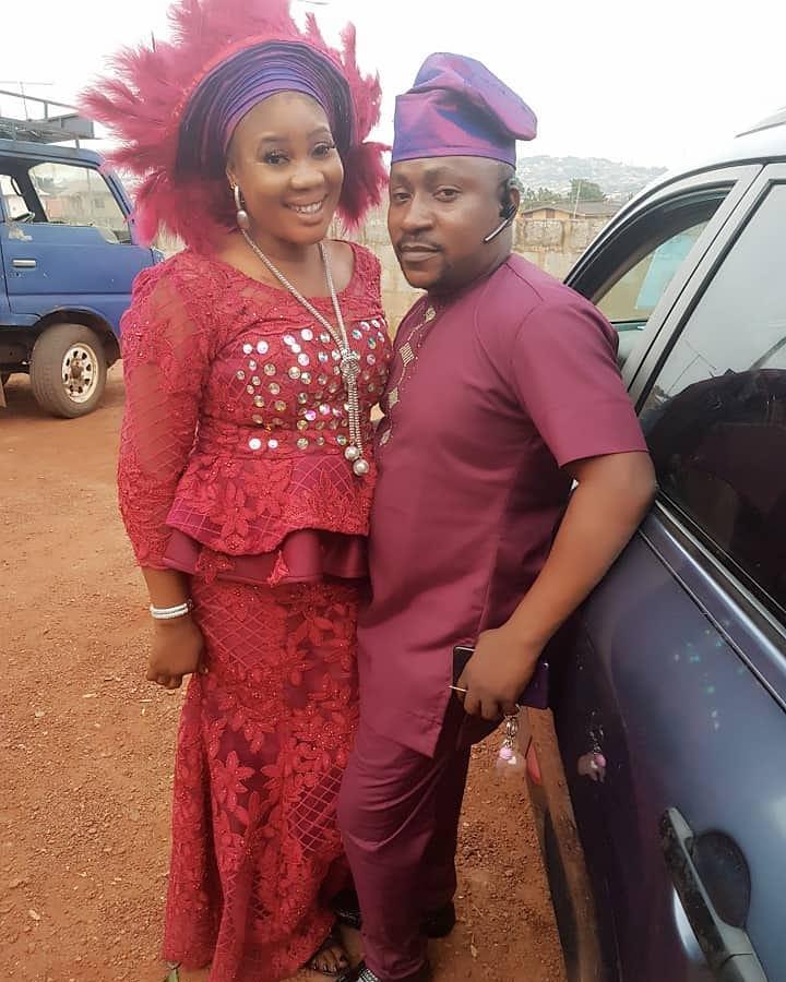 segun ogungbe and first wife