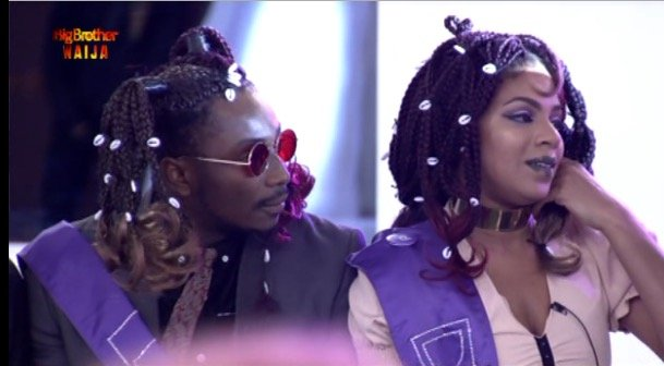 BB Naija: Sir Dee And Venita Emerges Winner Of One Million Naira In The Darling Hair Challenge