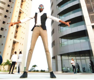 """My Height Is My Greatest Asset"" – Nigerian Tallest Model, Bakare Olalekan"