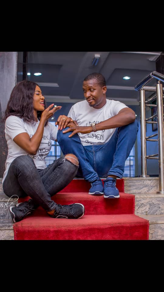 Adeola and Olalekan pre wedding photos