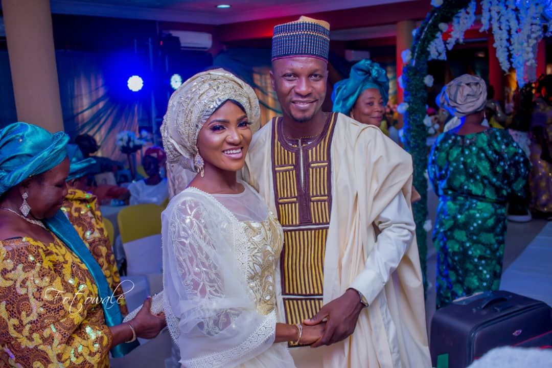 A Dream Come True! Adeola And Olalekan's Wedding Was Colorful, Lovely And Full Of Romance