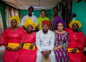 The Insider: Toyin Abraham And Kolawole Ajeyemi Official Engagement Photos