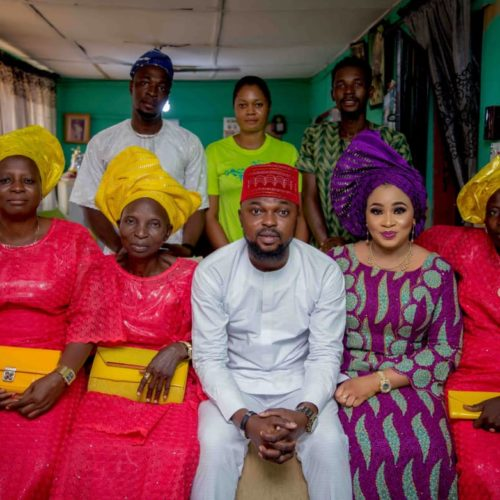 The Insider: Toyin Abraham And Kolawole Ajeyemi Official Engagement Photos