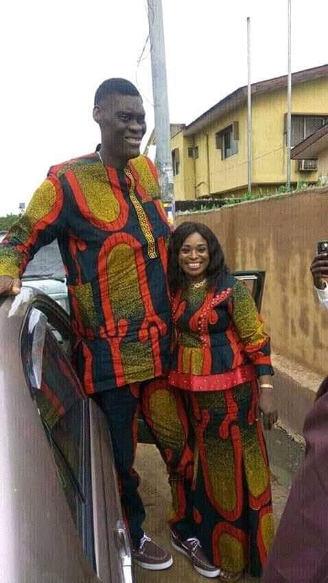 the tallest man in Nigeria