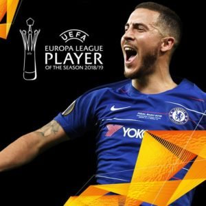 Europa League 2019: Eden Hazard Wins Player Of The Season Award