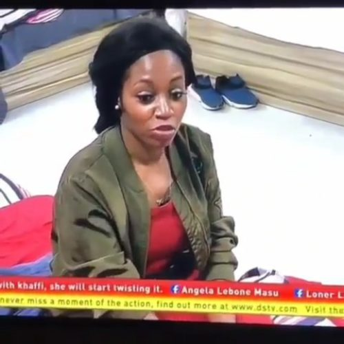 #BBNaija: Video Of Khafi Mocking Alex Surfaces Online