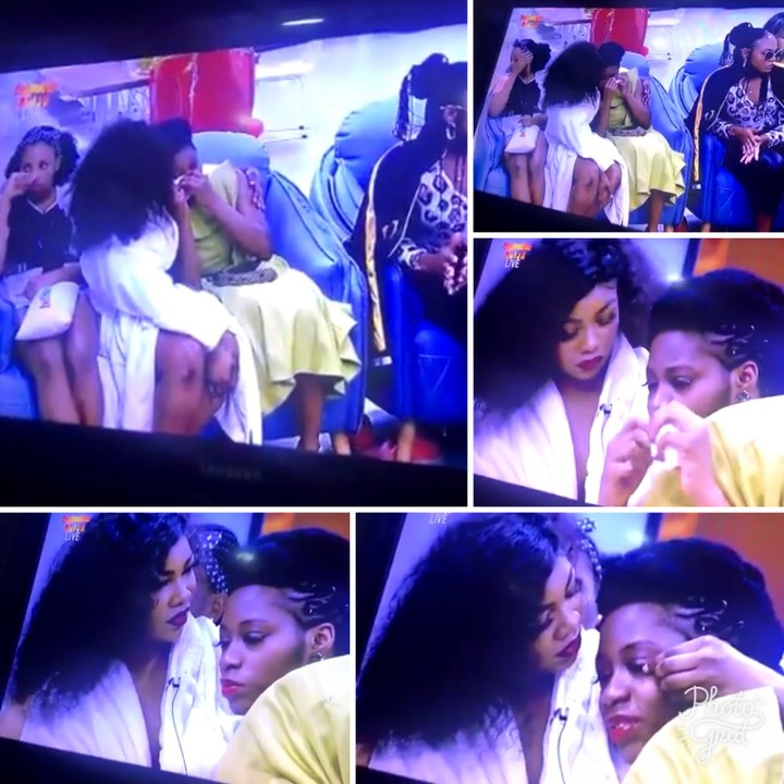 It's Over! Khafi In Tears As Gedoni Gets Evicted From Big Brother