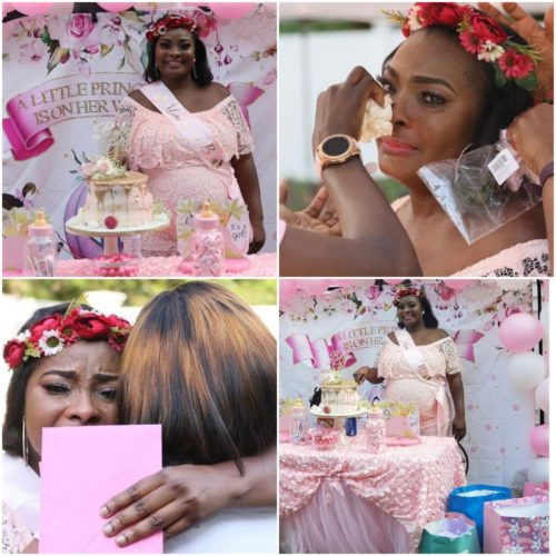 All That Went Down At Ronke Odusanya's Pink Themed Surprise Baby Shower