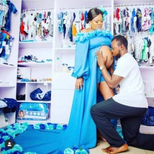 Toyin Abraham Welcomes A Bouncing Baby Boy!