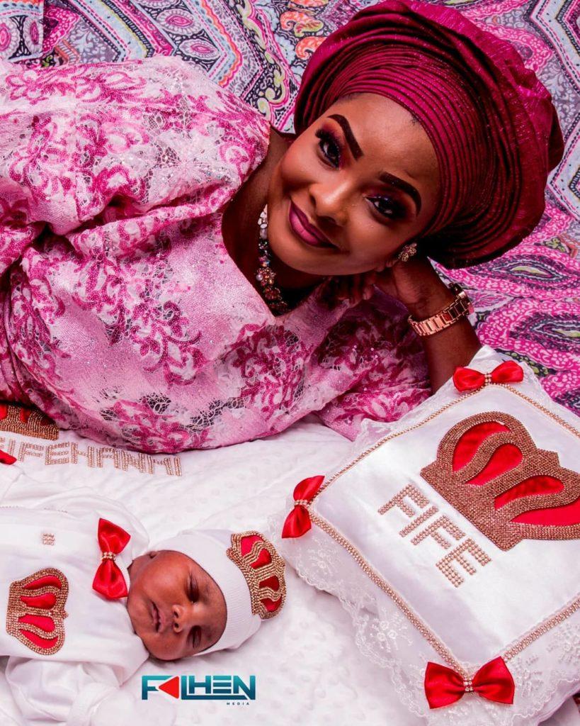 ronke odusanya baby naming ceremony