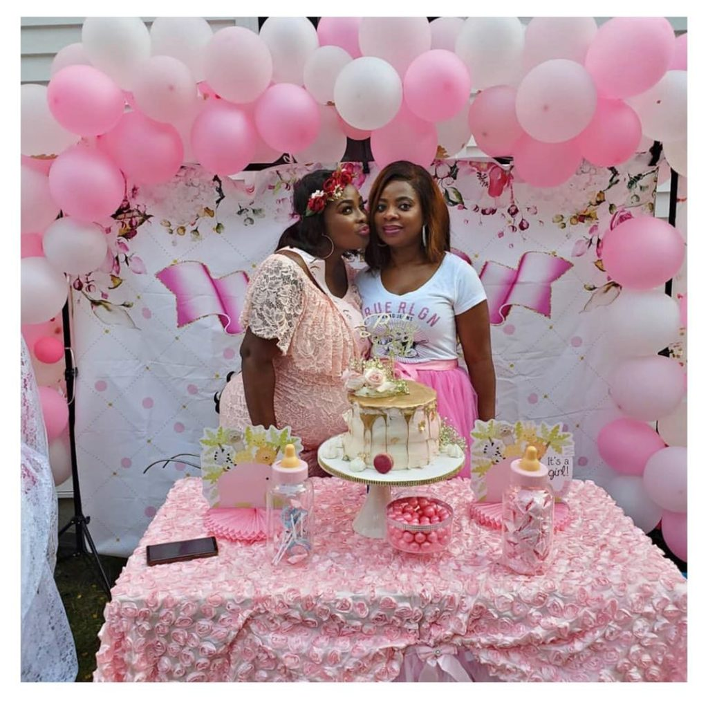 ronke odusanya baby shower