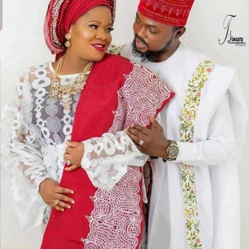 Married Already? New Photos Of Toyin Abraham And Kolawole Ajeyemi Speak Volume