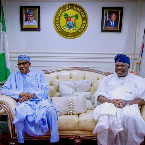 Ambode Congratulates Buhari On Victory At Election Petition Tribunal