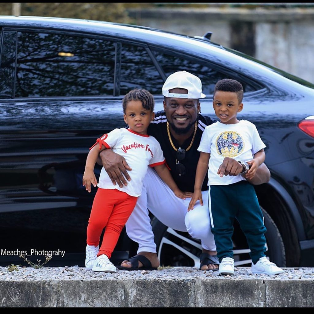 Paul Okoye's Twin Kids