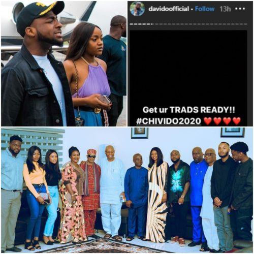 Wedding Bells! Davido Set To Marry Chioma, Shares Photos From Their Introduction