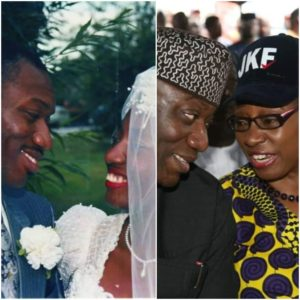 Kayode Fayemi And His Wife Celebrate 30th Wedding Anniversary With Throwback Wedding Photos