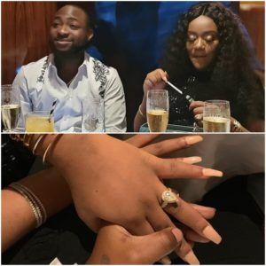 Davido Proposes To Chioma In The Most Romantic Way!