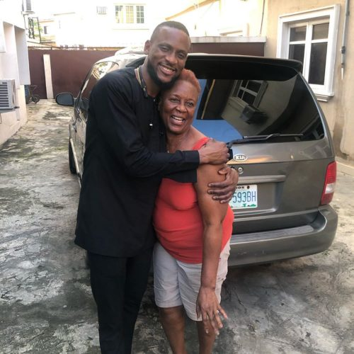 BB Naija Omashola And His Mum Celebrate Their Birthday With Beautiful Photo