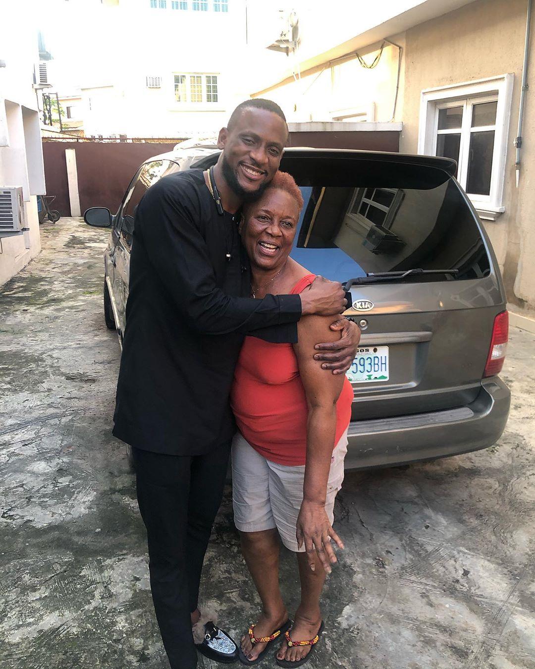 BB Naija Omashola And His Mum Celebrate Their Birthday With Beautiful Photo