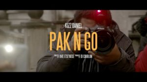 "Must Watch! Kizz Daniel Releases Official Video For New Single ""Pak N Go"""