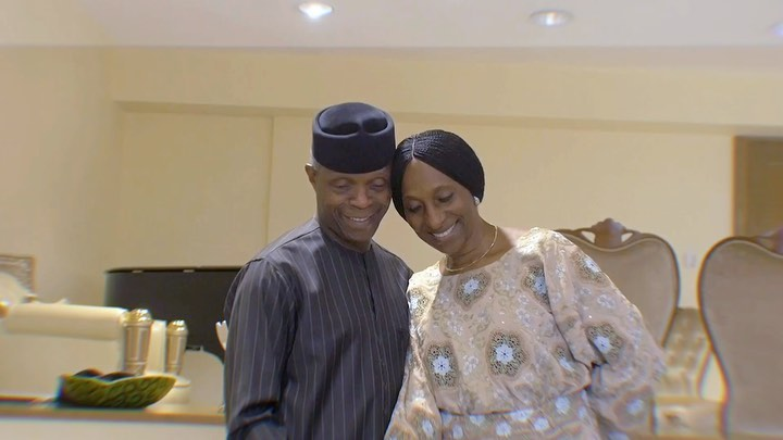 Yemi Osinbajo And Wife, Dolapo Celebrates 30th Wedding Anniversary In Grand Style