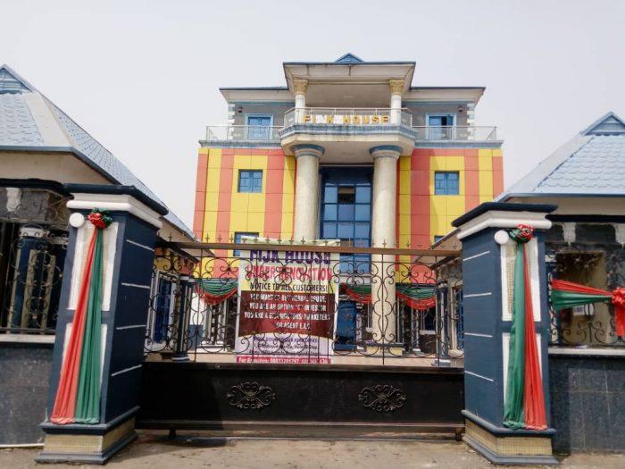 Oko Oloyun's Lagos Office