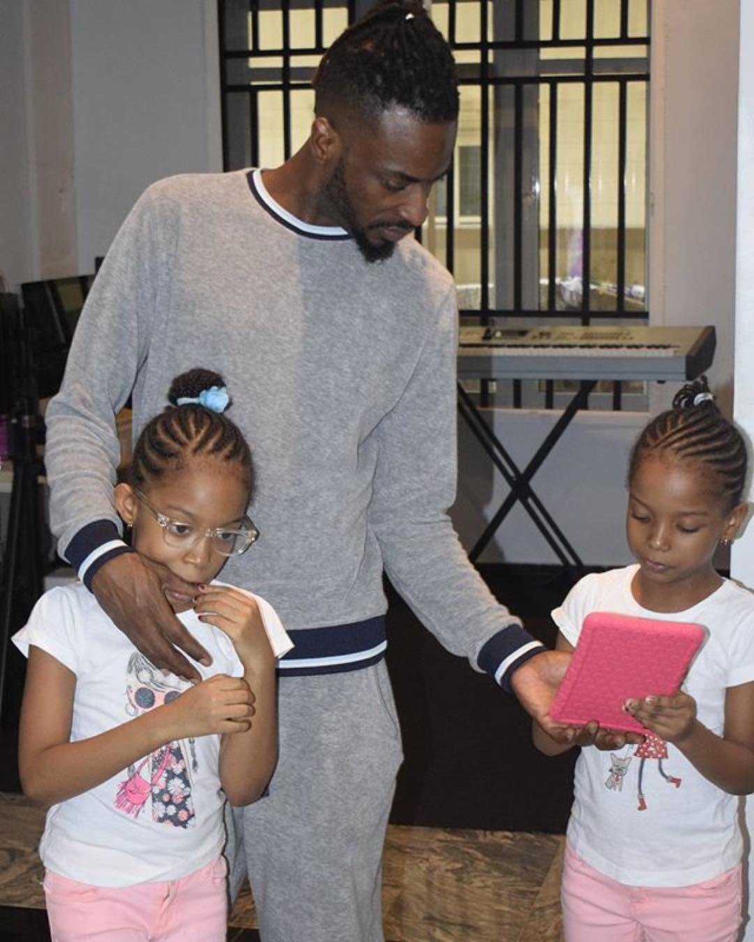 Nigerian celebrities with twins