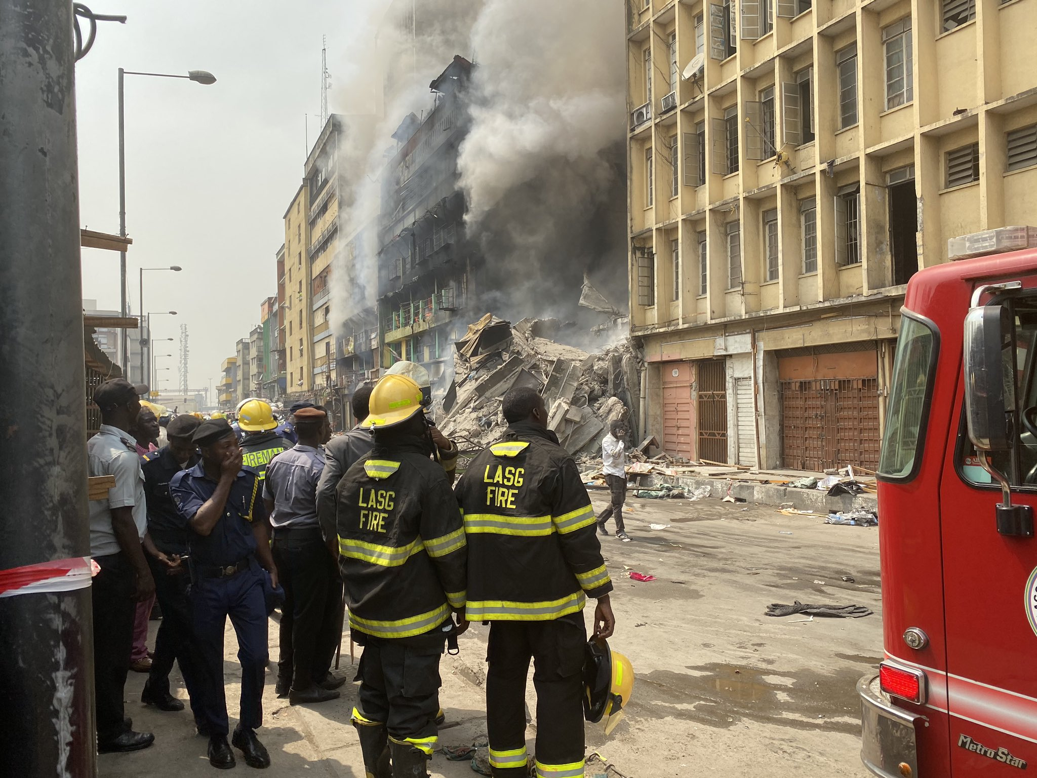 Not Again! Balogun Market On Fire, Serious Help Needed