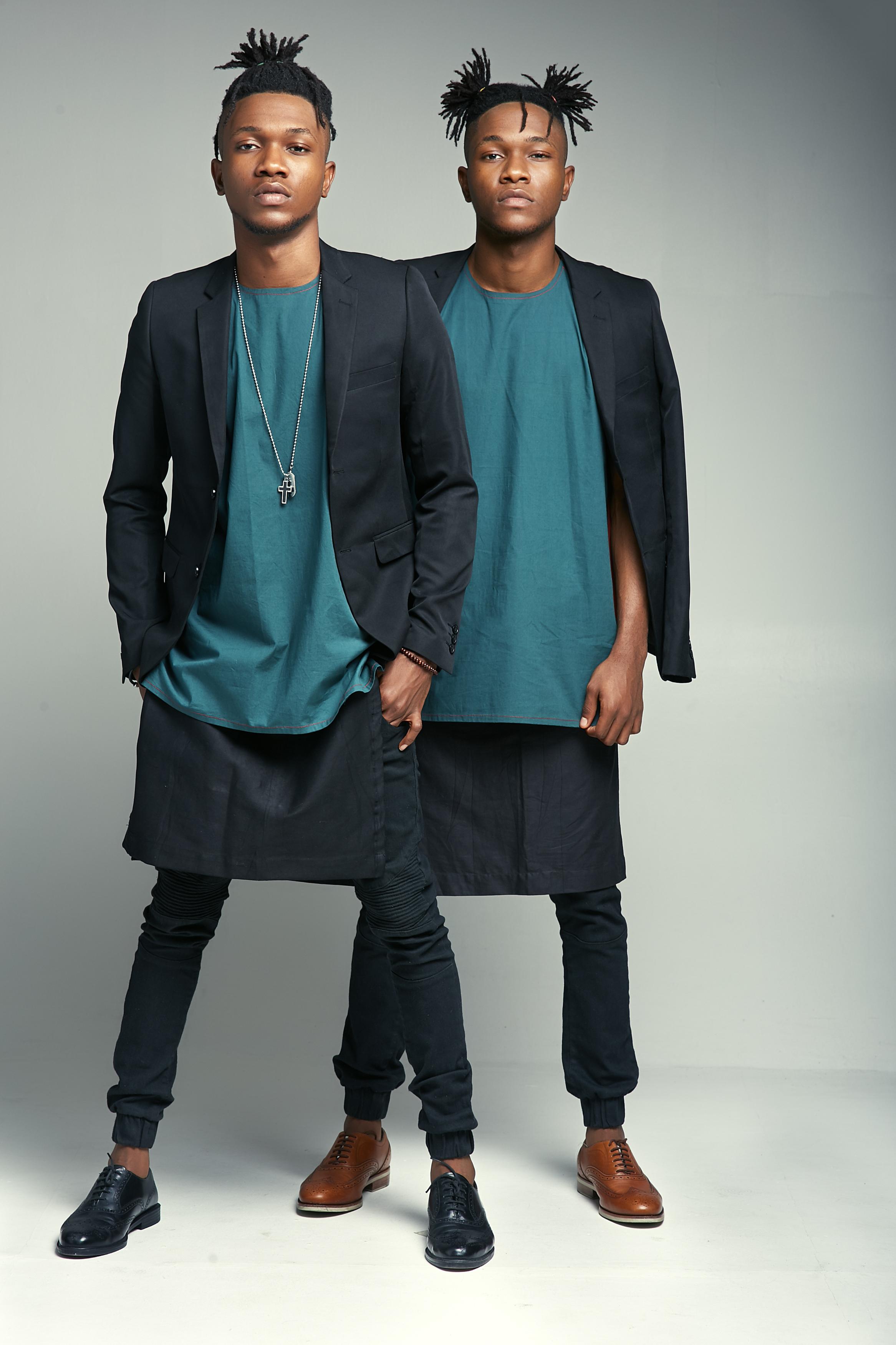 Nigerian celebrities twins