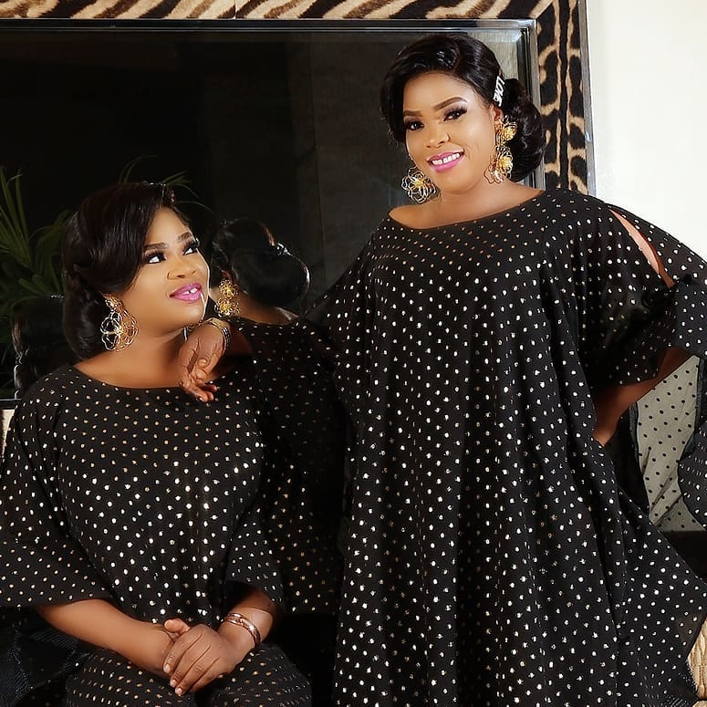 Nigerian celebrity twins