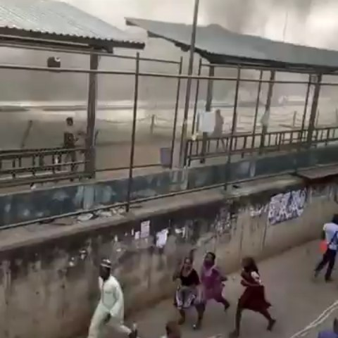 Riot in Iyana Ipaja