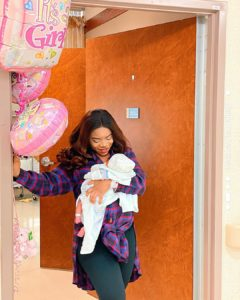 Laura Ikeji Welcomes Second Child With Hubby Ogbonna Kanu