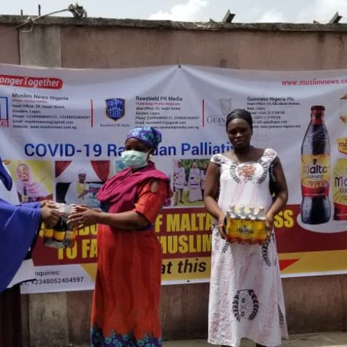 Malta Guiness Reaches 1000 Homes Through Muslim News Nigeria
