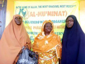 #EidelFitr: Al-Mu'minaat Ijebu-remo Zone Put Smiles On Widows Faces