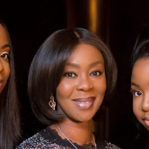 Happy Birthday Girls! Bukola Saraki's Wife Celebrates Her Twins With Beautiful Photos