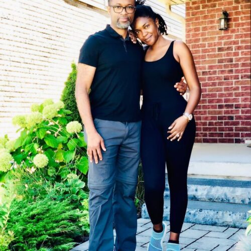 """It's My Big 50"" – Watch Omoni Oboli's Husband As He Shows Off His Dance Skills"