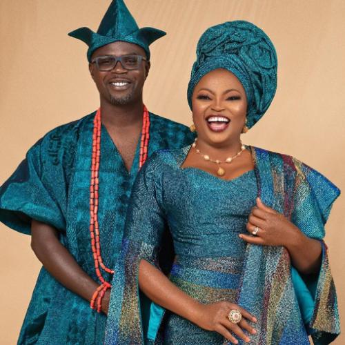 Funke Akindele And JJC Skillz Celebrate 4th Wedding Anniversary In Grand Style(Photos)