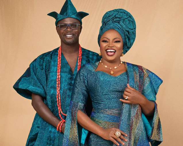 Funke Akindele And JJC Skillz Celebrate 4th Wedding Anniversary In Grand Style(Photos)