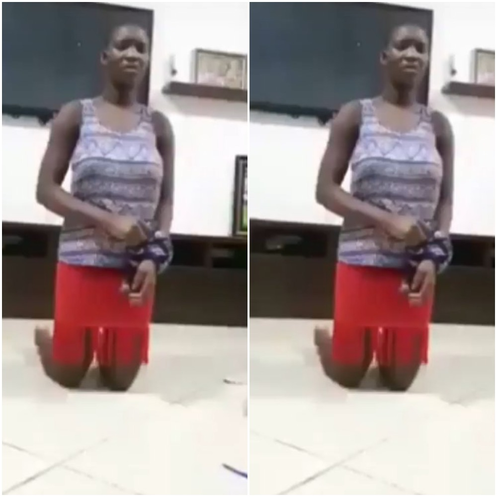Housemaid Apprehended After Pouring Insecticide In Her Boss Lady's Drinking Water