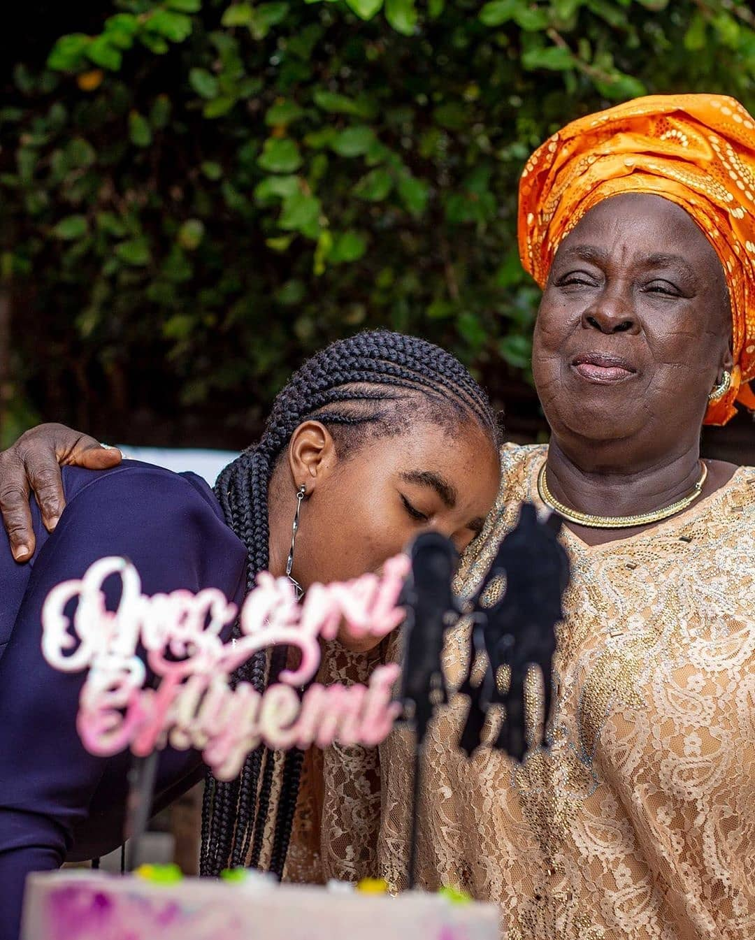 kenle afolayan's daughter