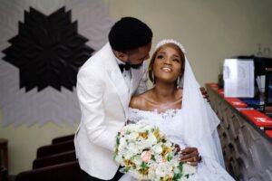 Nollywood Actress, Bukunmi Oluwasina Finally Marries Her Hearthrob