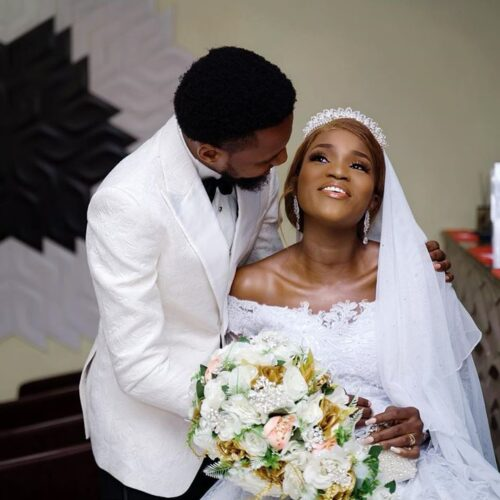 Nollywood Actress, Bukunmi Oluwasina Finally Marries Her Hearthrob