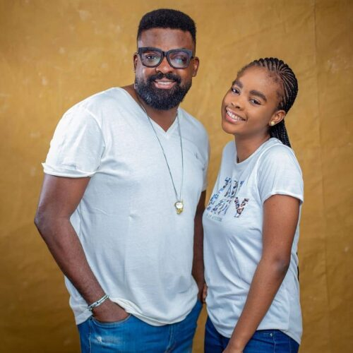 Beautiful! Kunle Afolayan Shares Post-birthday Photos Of His Adorable Daughter, Eyiyemi
