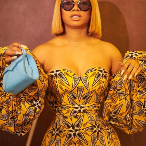 Toke Makinwa Wants People To Stop Calling Her Their Role Model For This Reason