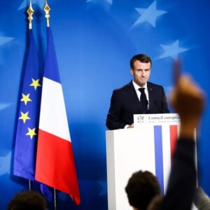 French President, Emmanuel Macron Tests Positive For Covid-19