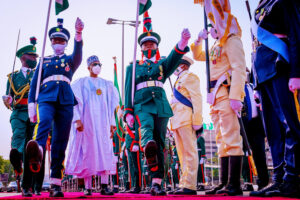 Buhari, Osinbajo, And Others At The 2021 Armed Forces Remembrance Day Celebration (Photos)